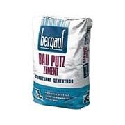 Штукатурка Bergauf Bau Putz Zement цементная 25 кг фото