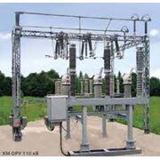 Модуль компактный КМ для ОРУ (ЗРУ) - 110 кВ фото