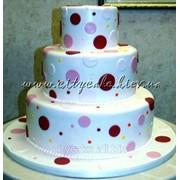 Торт свадебный №0116 код товара: 1-0116 фото