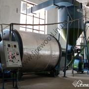 Линия брикетирования с ударно-механическим прессом 400 кг/ч фото