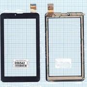 Сенсорное стекло (тачскрин) ZYD070-237 черное, Диагональ 7 фото