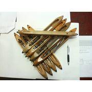 Изготавливаем ткацкие челноки из твердых сортов древесины. фото