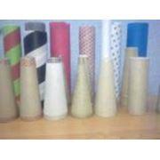 Конусы бумажные текстильные фото