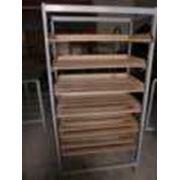 Тележка для перевозки хлебных поддонов фото