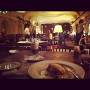 Зимний ресторан фото
