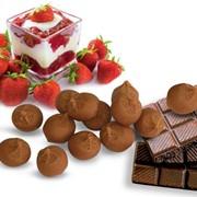 Ирис тираженный с начинкой Клубничный вкус, Сливочный вкус, Шоколадный вкус фото