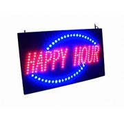 Вывеска LED HAPPY HOUR фото