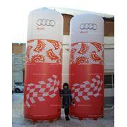Надувные рекламные конструкции фото