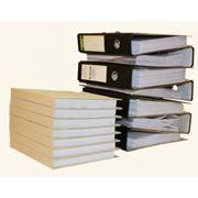 Переплет архивных и конторских документов фото