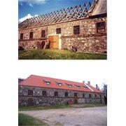 Реконструкция старых зданий фотография