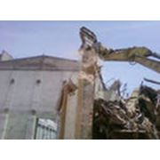 Демонтаж заглубленных сооружений фото