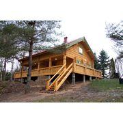Строительство домов из дерева фото