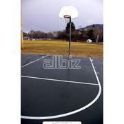 Строительство спортивных покрытий фото