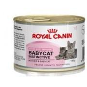 Корм Royal Canin Babycat Instinctive Mousse для котят 195 гр фото