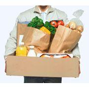 Услуги доставки продуктов фото