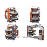 Машина для четырехцветной флексографической печати KD-Z4-1000 фото