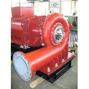 радиально-осевая турбина (турбина Френсиса) фото