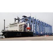 Услуги по перевозке портового оборудования