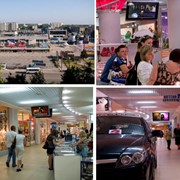 Видеореклама в торговых центрах фото