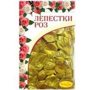Лепестки роз GOLD 30гр фото
