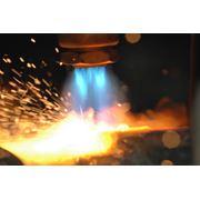 Газовая (кислородная) резка фото