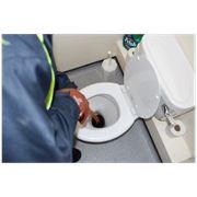 Очистка канализационных труб фото