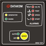 DATAKOM DKG-107 Контроллер автоматического управления генератором и ввода резерва фото