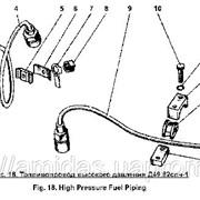 Топливопровод высокого давления Д49.82.2спч, Д49.82.1спч фото