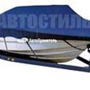 Тент транспортировочный (усиленный) для лодки с рулём и стеклом 5м-5,3м (Премиум 600 Den) фото