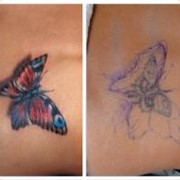 Исправление татуировки фото