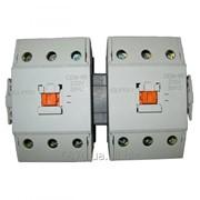 Блок контакторов с механической и электрической встречной блокировкой ELPRO CEM-65, 3P 65A 230/380V 50Hz фото