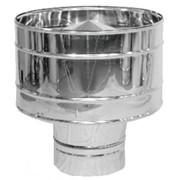 Дефлектор дымохода нерж. Версия Люкс D-110 мм толщ. 0,6 мм фото