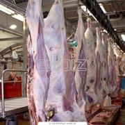 Мясо говядины охлажденное- полутушки фото