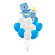 """Букет из воздушных шаров """"Медвежонок"""" ф-007 фото"""