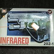 Пистолет с лазером 202-1 INFRARED 20x14см фото