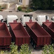 Производство прицепов, полуприцепов, контейнеровозов, самосвалов, зерновозов с фронтальной и боковой выгрузкой! фото