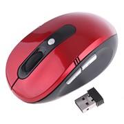 Беспроводная мышь wum-03 Красная фото