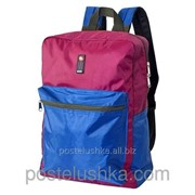 Рюкзак Соло 420 DERBY с карманом для ноутбука 14* синий Фуксия фото