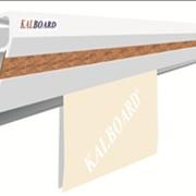 Серебристо анодированная алюминиевая вешалка Kalboard для планов, постеров, чертежей фото