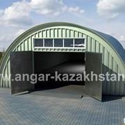 Ворота для ангаров фото