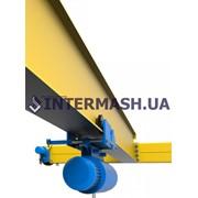 Кран-балка опорная и подвесная (мостовой однобалочный кран) фото