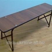 "Скамейка ""Кемь""разборная (1200х300х450) мм фото"