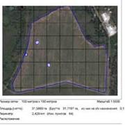 Измерениями полей (GPS - Полевые измерения) фото