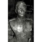 Парковая скульптура в метале фото
