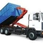Проектирование контейнерных систем «Мультилифт» (крюковые погрузочно-разгрузочные механизмы) и партальные «Лифтдампер» на шасси грузовых автомобилей. фото