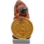 "Статуэтки Собака Блуд-хаунд ""Монета на удачу"" (W.Stratford) арт.RV-913 фото"