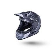 Шлем 02-10621112 Full Face DH/BMX Zoka 6отв. Stripe YM(50-51см) LDL KALI NEW фото