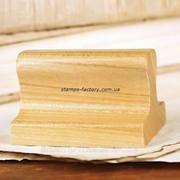 Оснастка деревянная, 38х14 мм фото
