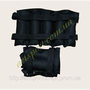 Утяжелители для ног и рук 5 кг (2 шт. по 5 кг) регулируемые