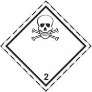 Знак класс опасности 6 Ядовитые и инфекционные вещества фото